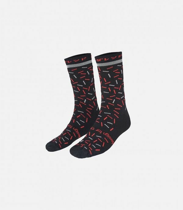 PEdALED ODYSSEY SILK SOCKS BLACK   L