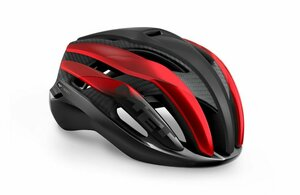 MET Helm Trenta 3K Carbon black red metallic, Gr. M, 56-58