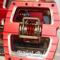 CRANKBROTHERS PEDALE MALLET DH RACE RED MY16