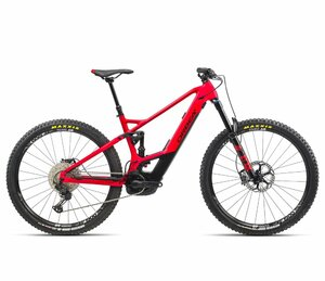 Orbea WILD FS H10 LG Bright Red - Black (Matte)