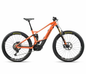 Orbea WILD FS M-TEAM S/M Orange (Gloss) - Black (Matte)