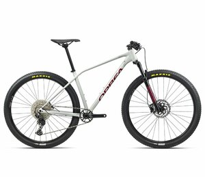Orbea ALMA H50 M White Grey- Metallic Red (Gloss)