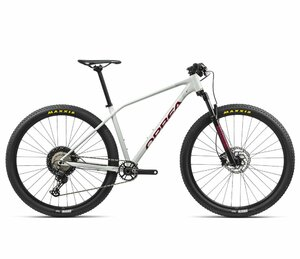 Orbea ALMA H30 M White Grey- Metallic Red (Gloss)