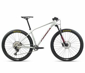 Orbea ALMA H20 M White Grey- Metallic Red (Gloss)