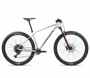 Orbea ALMA H10-EAGLE S White Grey- Metallic Red (Gloss)