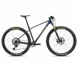 Orbea ALMA M-TEAM S Carbon Blue - Gold (Gloss)
