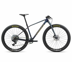 Orbea ALMA M-LTD S Carbon Blue - Gold (Gloss)