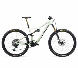 Orbea RISE M-TEAM M Sap White – Green Fog