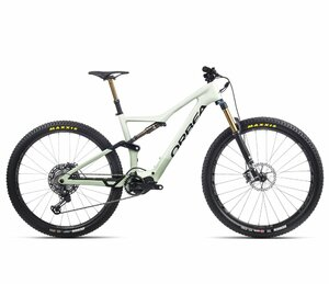 Orbea RISE M-LTD S Sap White – Green Fog