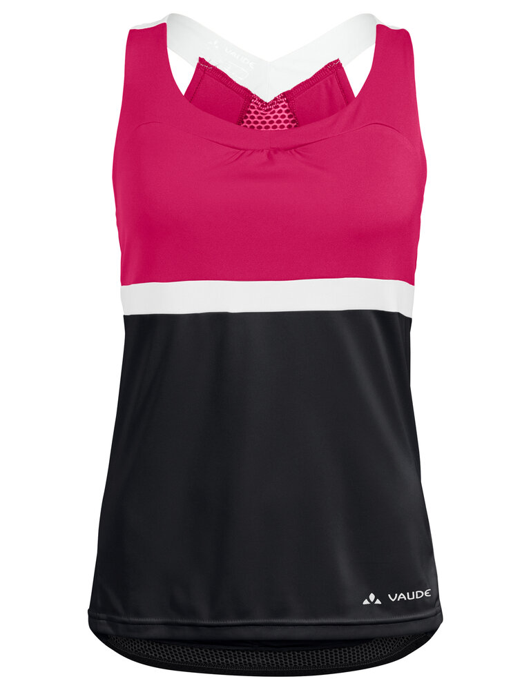 VAUDE Women's Advanced Top black/pink Größ 40