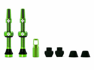 Muc Off Tubeless Valve Kit Universal for MTB & Road   44 green