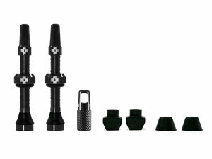 Muc Off Tubeless Valve Kit Universal for MTB & Road   60 black